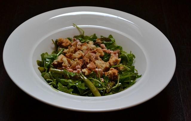 199. L'insalata di salmone e asparagi al Garam Masala di Carolina