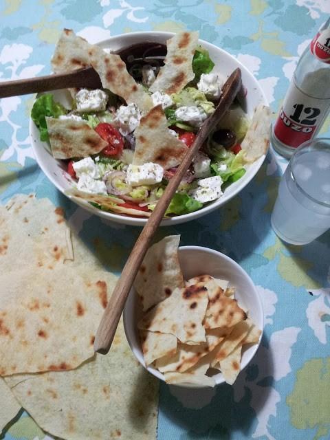 203. la Horiatiki Salad della Vitto