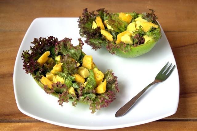 196. La Caesar Salad all'avocado di Isabel