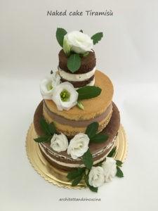 Naked cake al tiramisù