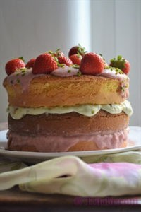 "Naked cake ""End of summer"" di Tritabiscotti"