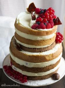 """Naked cake """"Passeggiata nel bosco"""" di Annarita"""