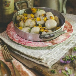 157. Gnocchi con farina di castagne ripieni d'Autunno di Monica e Luca