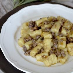 24.Gnocchi di patate alla buzzonaglia di Tombarello di Cristina
