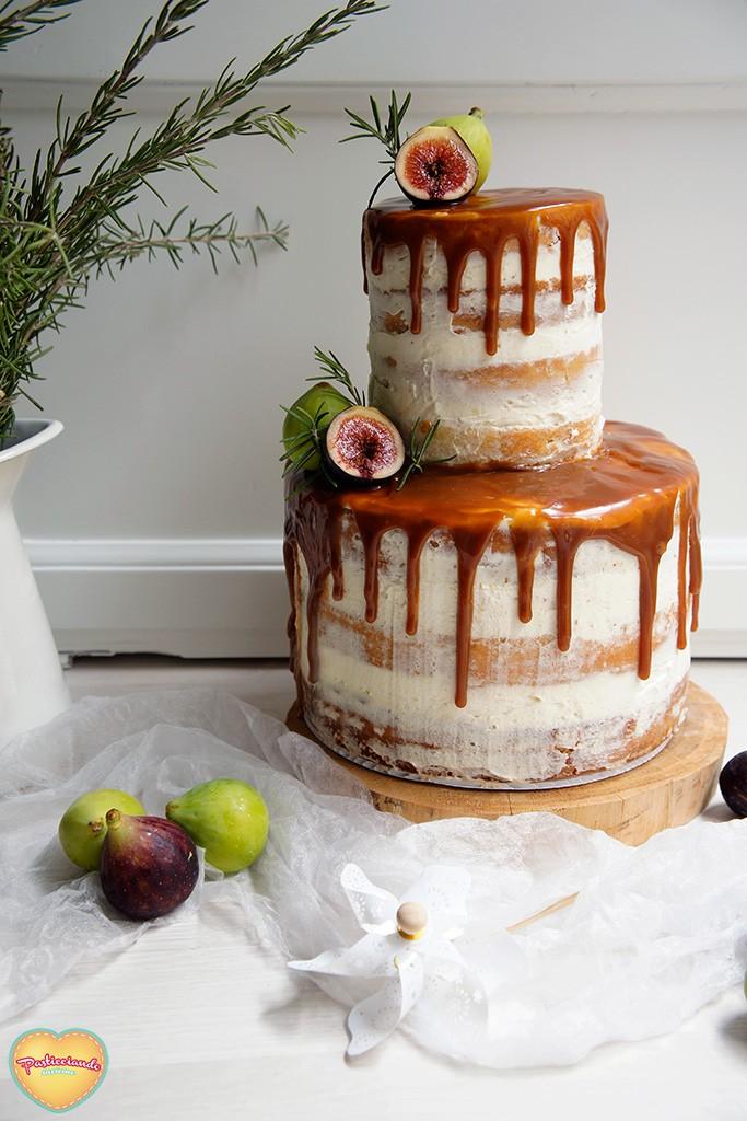 naked cake fichi
