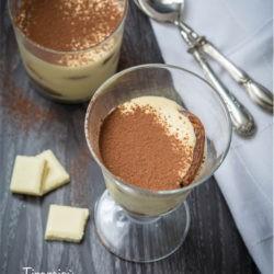 129.Il Tiramisù al cioccolato bianco di Alessandra