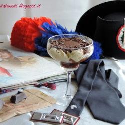 71.Il Tiramisù al cioccolato e Cognac di Manuela