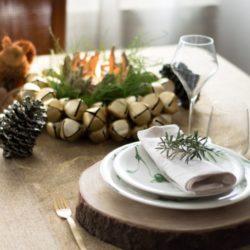 """7.La tavola della Vigilia di Natale di Maria Grazia:""""Il Natale fra i boschi"""""""