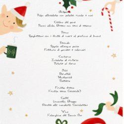 Il menu di Rosaria