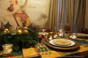 Il posto tavola e il centrotavola di Elisa