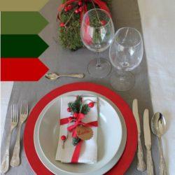 La palette colori della tavola di Lucia