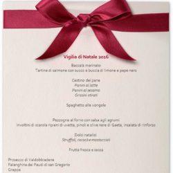 Il menu di Lucia