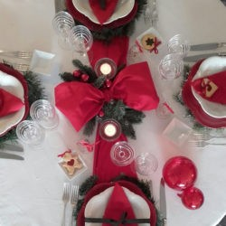 "32. La tavola del pranzo di Natale di Katia: ""Legami d'amore"""
