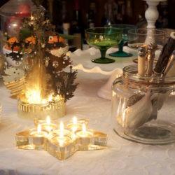 """36.La tavola del buffet di San Silvestro di Marica: """"New York style"""""""
