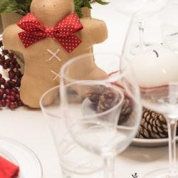 """17.La Tavola del pranzo di Natale di Lidia:""""Sparkling Gingerbread"""""""
