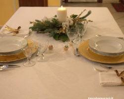 La tavola con il centrotavola