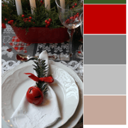 La palette dei colori di Paola