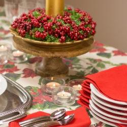"""38.Il buffet di San Silvestro di Lidia: """"Rosso Capodanno"""""""