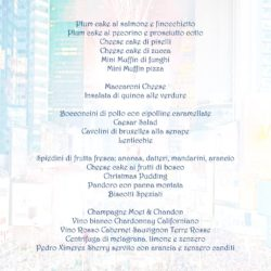 Il menu di Marica