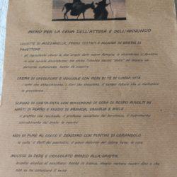 Il menu di Annalena