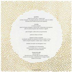 Il menu di Elisa