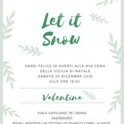 L'invito di Valentina