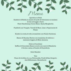 Il menu di Valentina