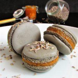*106 .Macaron con composta di zucca al profumo di lavanda di Susanna