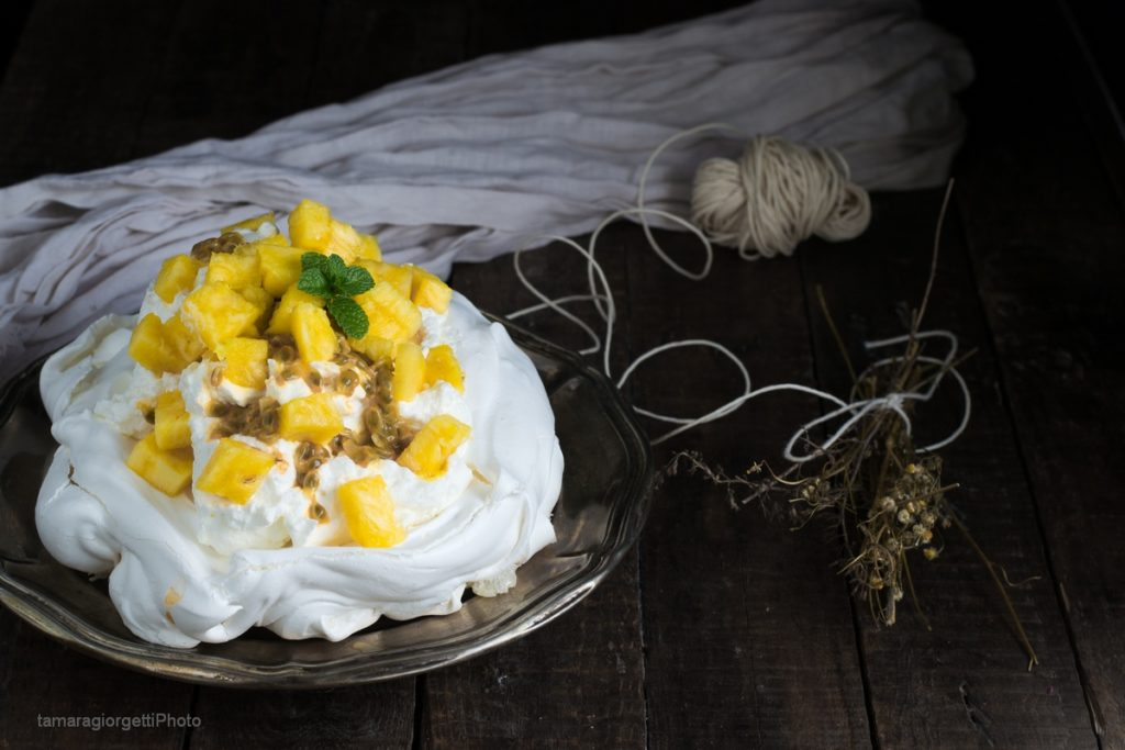 pavlova passion fruit e ananasO1