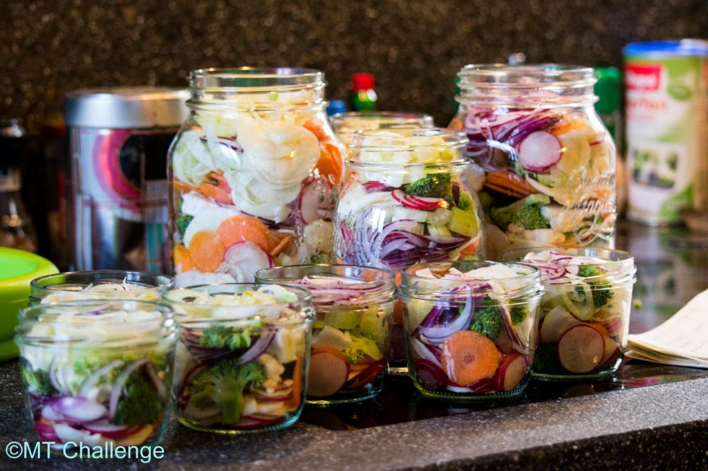 Pickles in preparazione