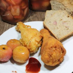 2. Pollo fritto con glassa Ale fino e miele di Antonietta
