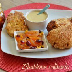 *34.pollo fritto con salsa ala senape di Elena