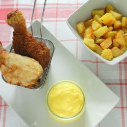 46.Pollo fritto con zabaione salato di Camilla