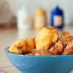 49.Pollo fritto con salsa Jerk di Kika