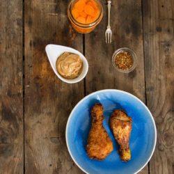 52.Pollo fritto ci. Salsa di arachidi di Marta e Chiara