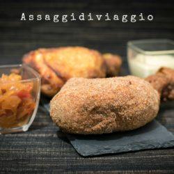 53.Pollo fritto con salsa di mele e cipolle di Annalu e Fabio