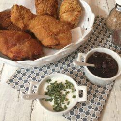 *63.Pollo fritto con salsa allo yogurt di Micaela