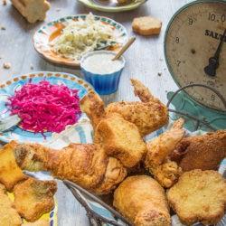 66.Pollo fritto con salsa senape e miele di Monica e Luca