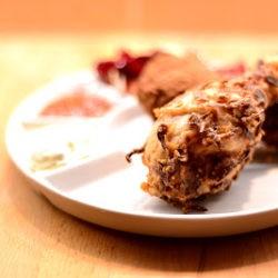 *13.Pollo fritto con salsa alla birra e salsa tartara di Greta