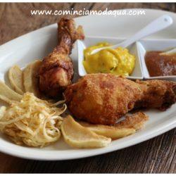 22.Pollo fritto con chutney di mele e cipolle di Elena