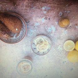 74.Pollo fritto con sorbetto di peperoni di Flaminia