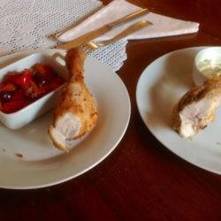 89.Pollo fritto con maionese aromatica di Anna Maria