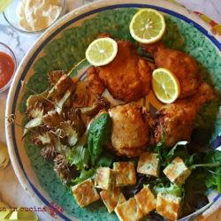 103.Pollo fritto con maionese e salsa piccante di Sara