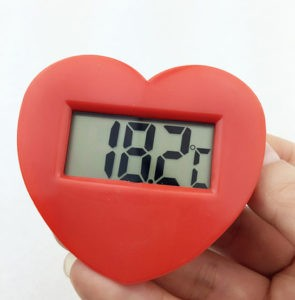 100pcs-lot-By-DHL-FEDEX-Heart-shaped-Embedded-font-b-Temperature-b-font-font-b-Indicator