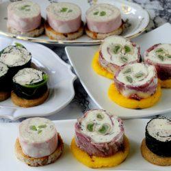 1.Rolls con salumi, formaggi e verdure di Sara