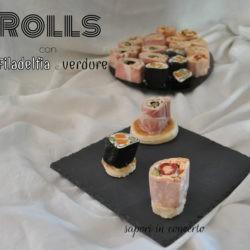 14.Roll con Filadelfia e verdure di Antonella