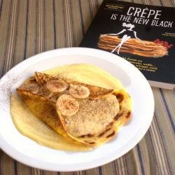 Crêpe con soufflé di banane e crema al Rhum - Giuliana