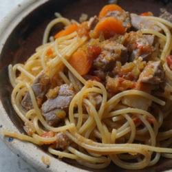 21. Spaghetti al goulash di tonno di Micol