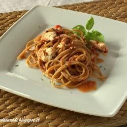 82. Spaghetti al sugo di orata di Manuela