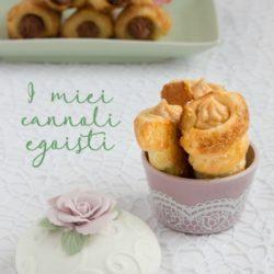 10. Patrizia M, Cannoli con mousseline al pralinato e con ganache fondente con marron glacé e rum